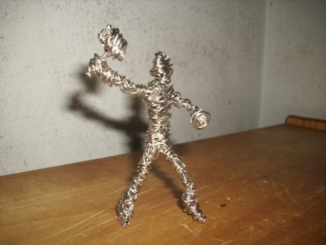 Paper Clip Thor by CreepOfFear