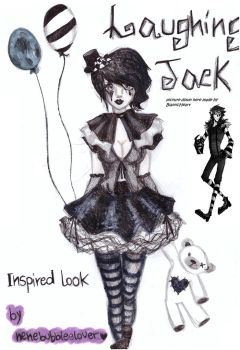 another Laughing Jack inspired look by NENEBUBBLEELOVER