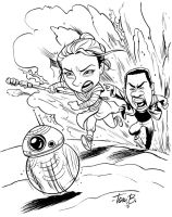 Force Awakens fan art by tombancroft
