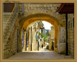 Tsfat-the old town by ShlomitMessica