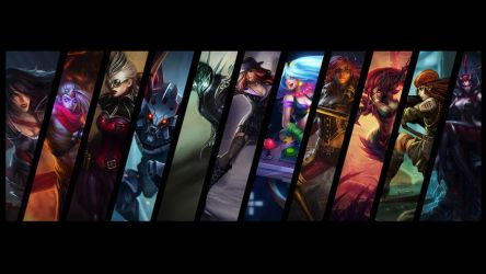 League of Legends background by SoujiDesigns