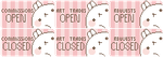 Molang Status Stamps 1 - Full Set - FREE TO USE ! by PastelPon