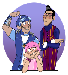 Family Picture by Crescent-Mond