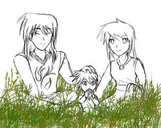 Simple Family... by DragonBladerX