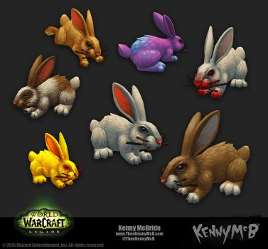 Rabbits by TheeKennyMcB