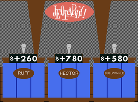 Original Jeopardy! Contestant Podiums by mrentertainment