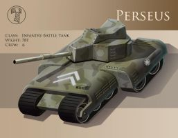 Infantry Battle Tank - Perseus by yancur
