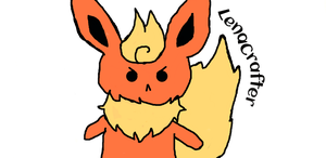 MAD FLAREON by LenaCrafter