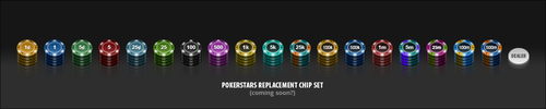 Pokerstars Chip Set (WIP) by PureAV