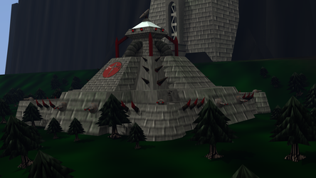 Verator Fortress and Communications by LordKaizen