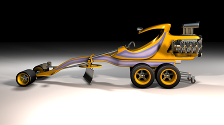 Groovy Grader 3D model by peterhirschberg
