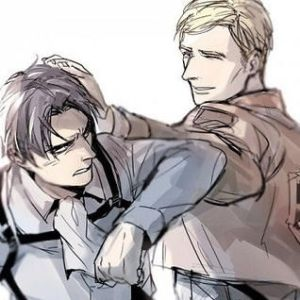 Erwin X Reader X Rivaille~ My Little Voice by Sheerpoint on DeviantArt