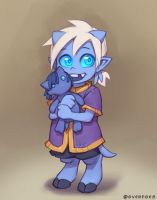 Draecember 11th - As a child. by Zeon-in-a-tree