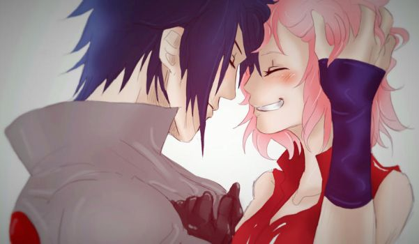 ~ SasuSaku ~ by Stray-Ink92