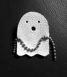Leather - chain rattling ghost by rockgem