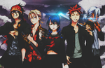 Shokugeki Gang by BrunoWC