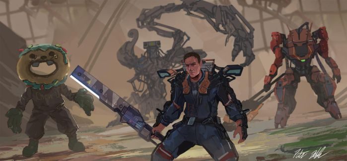 The Surge Illustration by PeterPrime