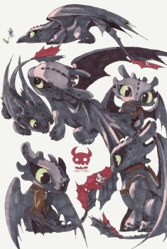 toothless by FermiumIce