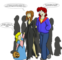 Bay and AG's Halloween by CDRudd