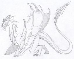A dragon for Chisama by StarRaven