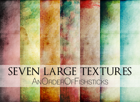 7 Large Textures by AnOrderOfFishsticks
