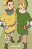 Pipit x Link by Xinjay
