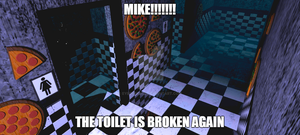 The broken toilet (roleplay open)
