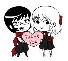 Thank You Screen by SoggyIllustrations
