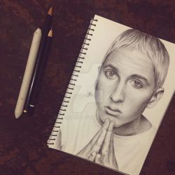 Eminem Slim Shady Sketch by Narniakid