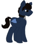 Random Khan Pony With Transparent Background by That-One-Outcast