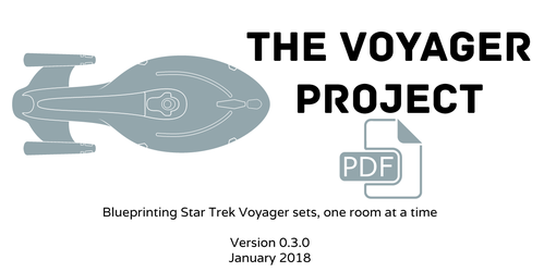 The Voyager Project set blueprints by radishdalek