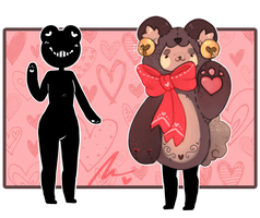 [OPEN] Valentines Mocchin -AUCTION- by WiviAdopts