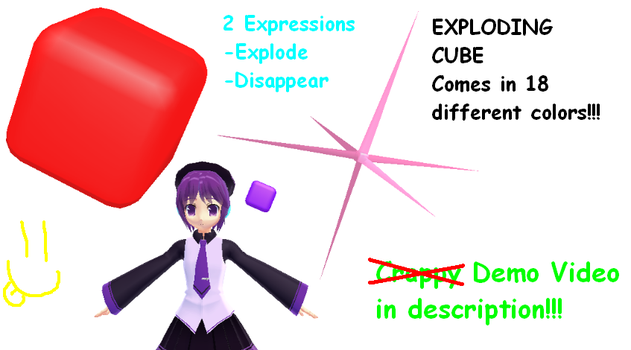 MMD-Exploding Cubes DL by Shioku-990