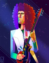 Brian May by SaPov
