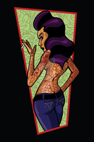 Tattooed Pin Up by DrSprinkles