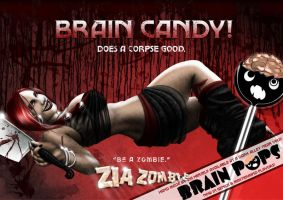 Brain Candy! Does a Corpse Good. - Poster by CauseThought