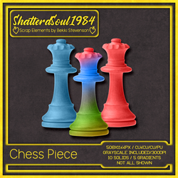 Chess Piece by ShatteredSoul1984
