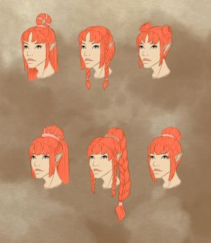 hairstyles part 2 by Ana-Styles