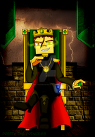 Minecraft: Story Mode - King Aiden by PrettyXTheXArtist