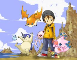 Digimon World by Silphy