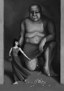 Princess and the Heartless Giant by atomicqueen