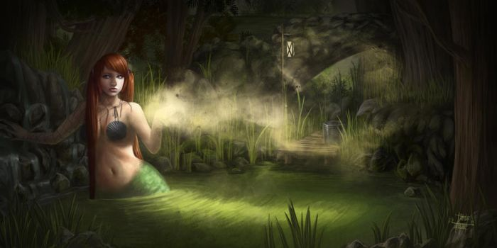 The Nixie of the Pond by Ge-mini