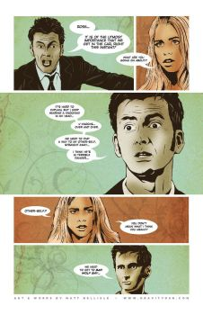 Doctor Who Comic Page by gravitydsn