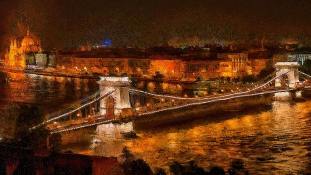 Budapest Cityscape by montag451