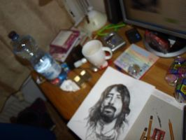 Dave Grohl by ufostanley
