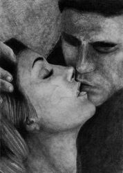 Elena and Stefan by Luthien-Ancalimon