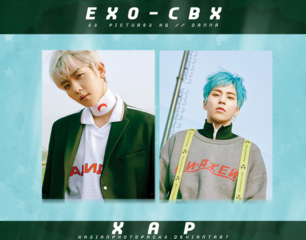 Photopack 3219 // EXO-CBX (Blooming Days). by xAsianPhotopacks