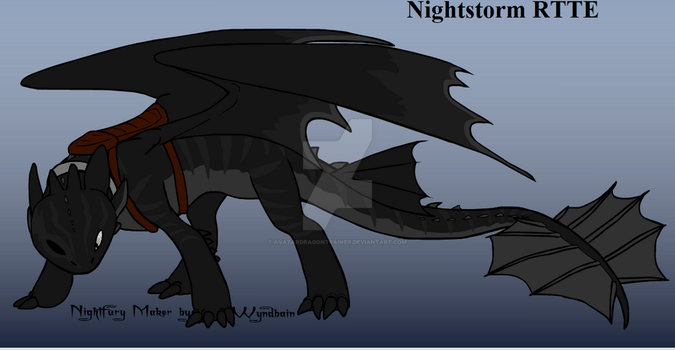 Nightstorm RTTE by Avatardragontrainer