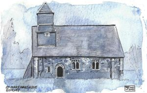 St. Mary Magdalene, Boveney by ExIllustrated