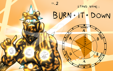 Standovember 2: BURN IT DOWN by IlReSanmto